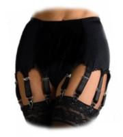 Suspender belts with 10-14 straps