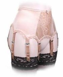 Suspender belts with 8 straps